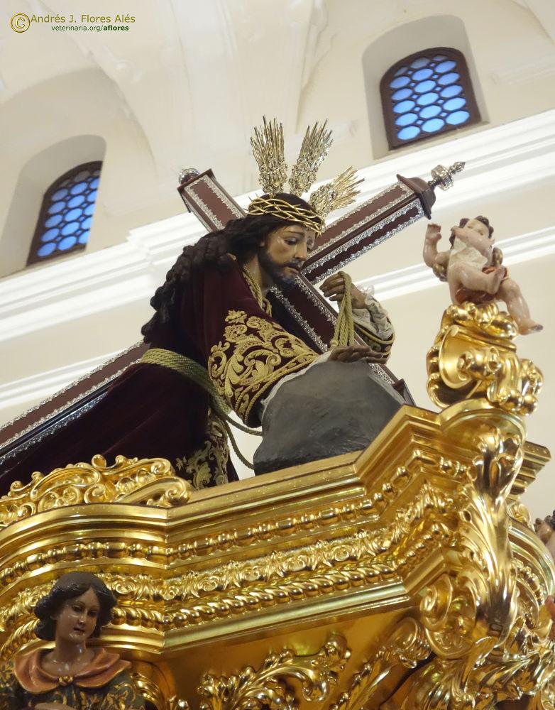 El Chiquito, Nuestro Padre Jesús de la Misericordia sacado a hombros de la Iglesia de El Carmen by Andrés J. Flores Alés Veterinario