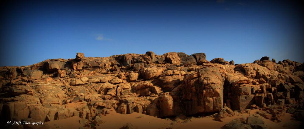 Desert of Tabuk by M. Afifi