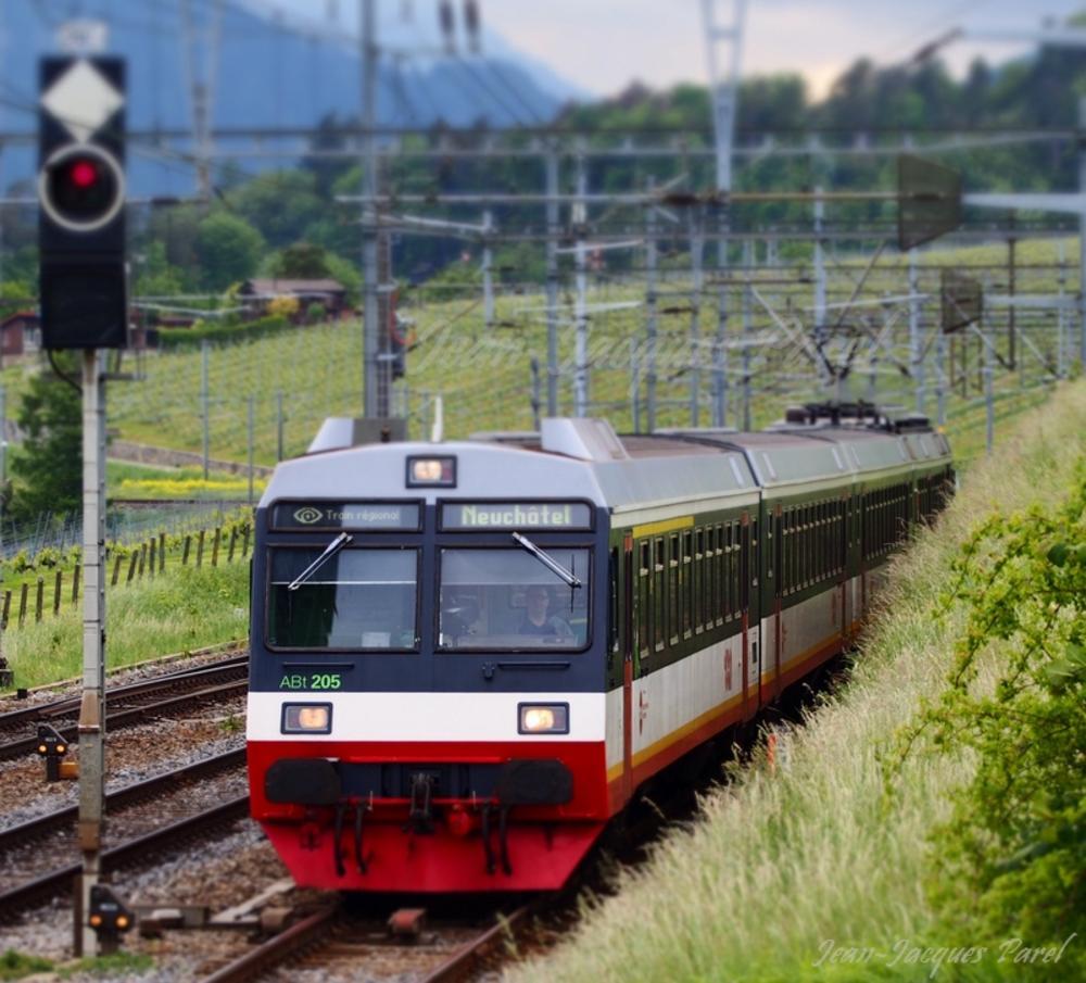 Photo in Vehicle #railway #trn #transn #swiss railway #val de travers #neuchâtel