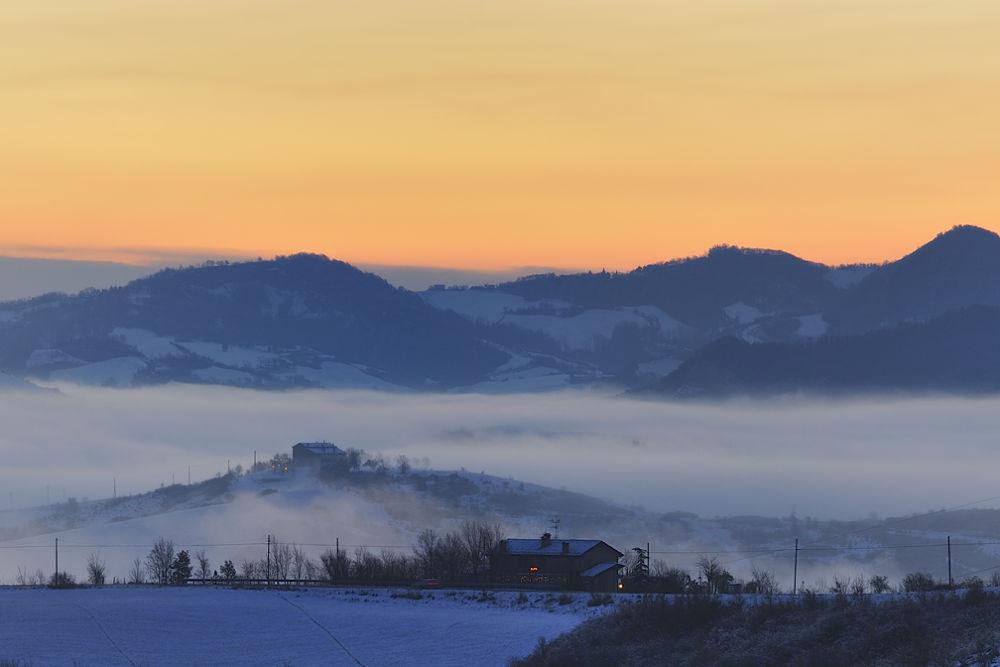 Un alba sull'appennino by Maxmt65