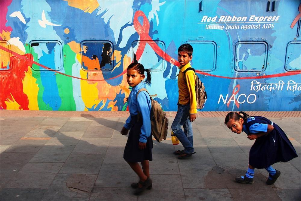 The Train of Joy by Aniruddha Guha Sarkar