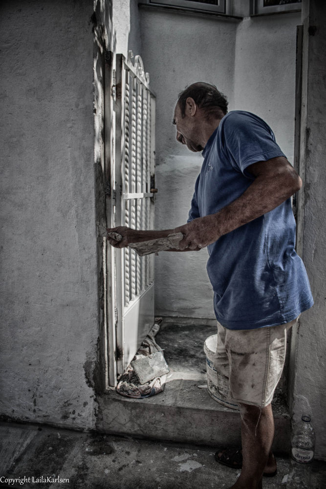 The working man by LailaKarlsenPhotography