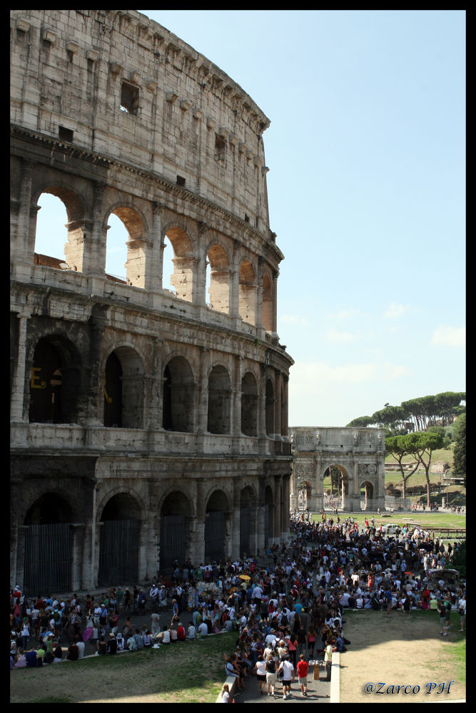 IL COLOSSEO by Zarco70