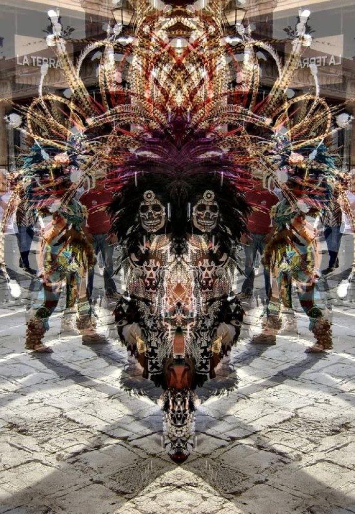 death_masked_aztec_dancer_by_ash_kamiya_13_R by John Longbow