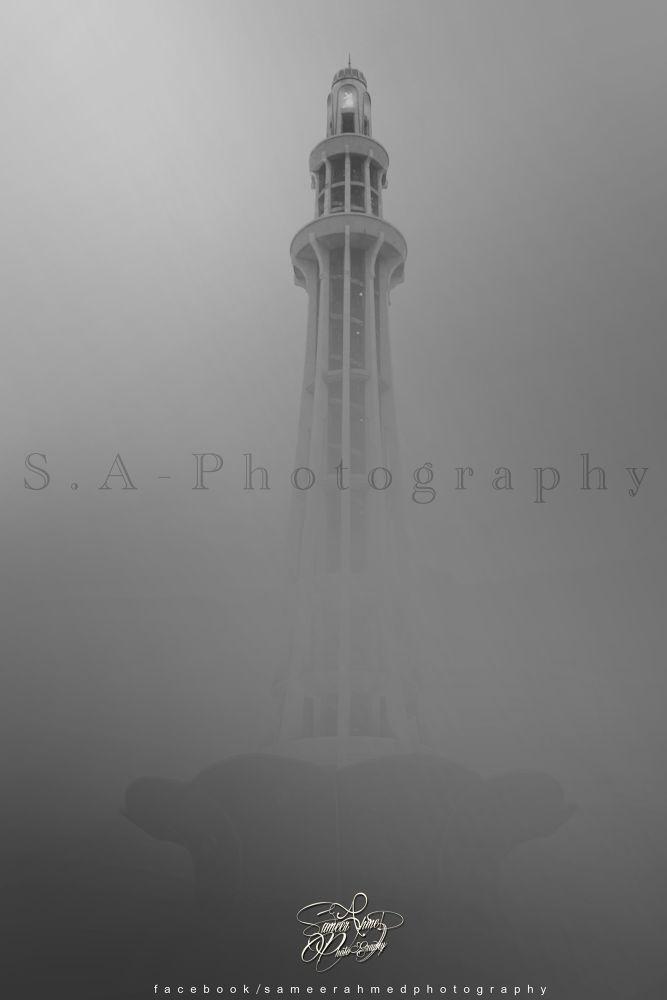Minar-e-pakistan by sameerahmedphotography