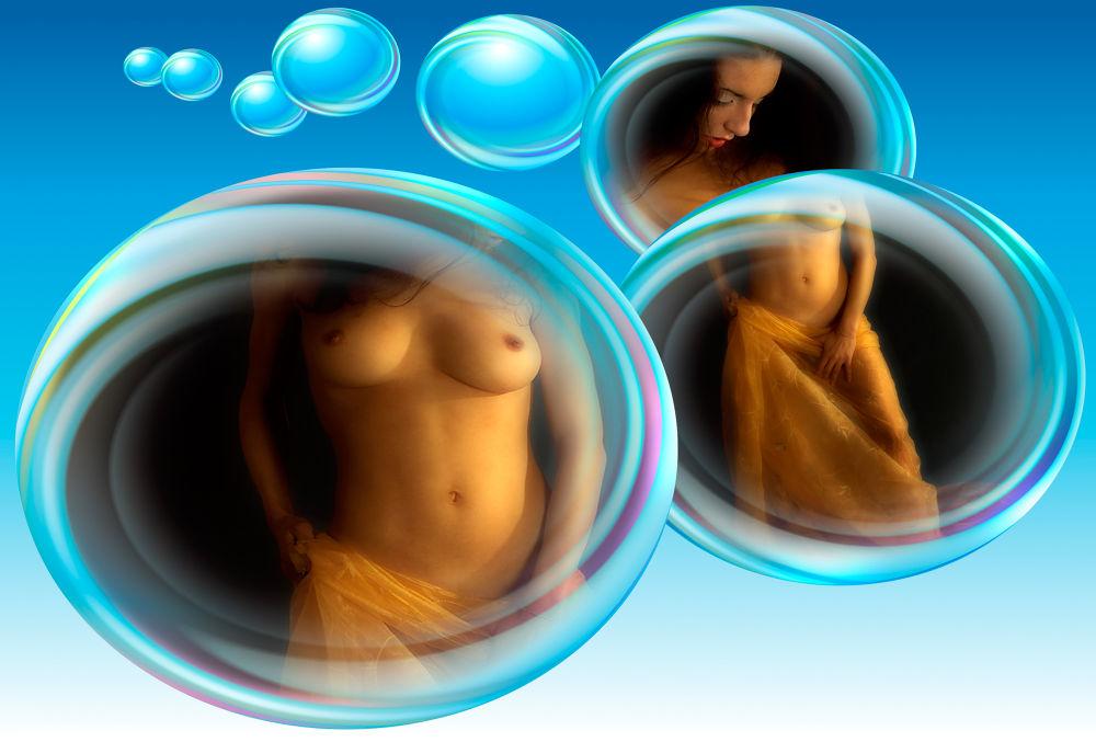 Souffleur de bulles de savon by Gianfranco Cappuccini