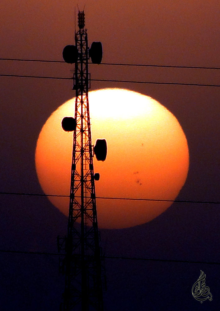 From the cities of Samarra, Iraq ... sunset by  piercing eyes photography
