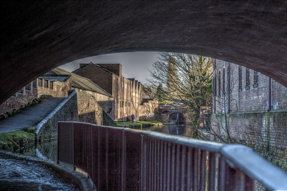 View From A Bridge by Andy Edwards
