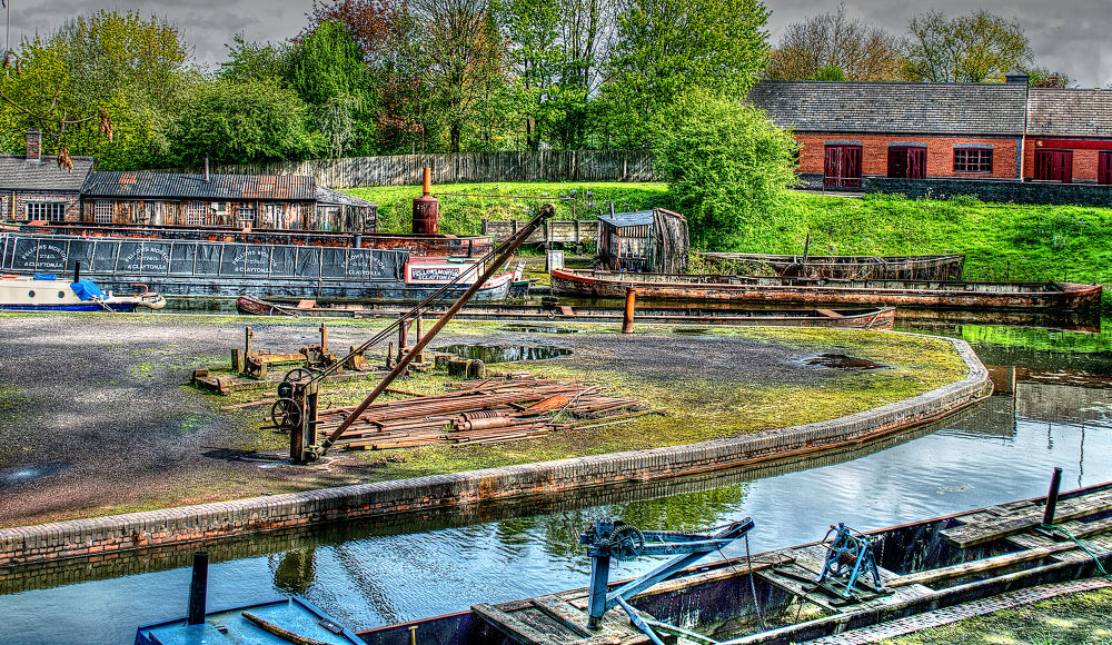 Canal Yard by Andy Edwards