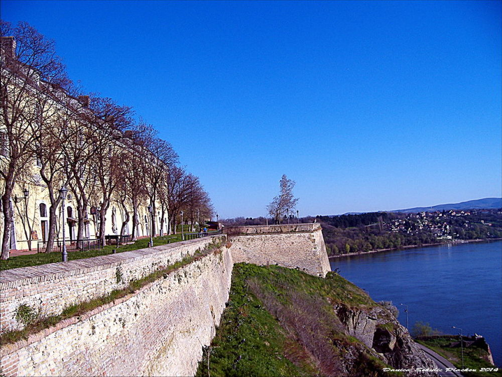 The Petrovaradin Fortress by Danica Sekulic Plackov