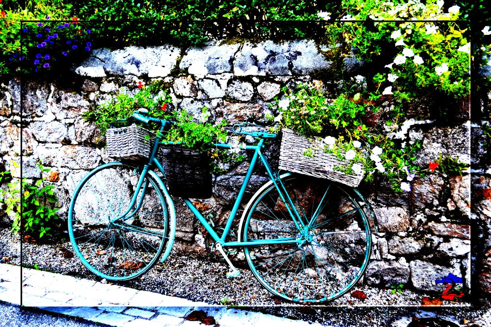 bicyclette by Franck Auzeloux