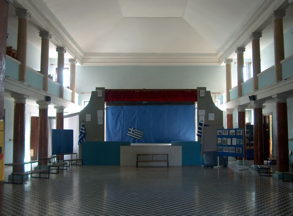 School stage by Michail Vekiaris