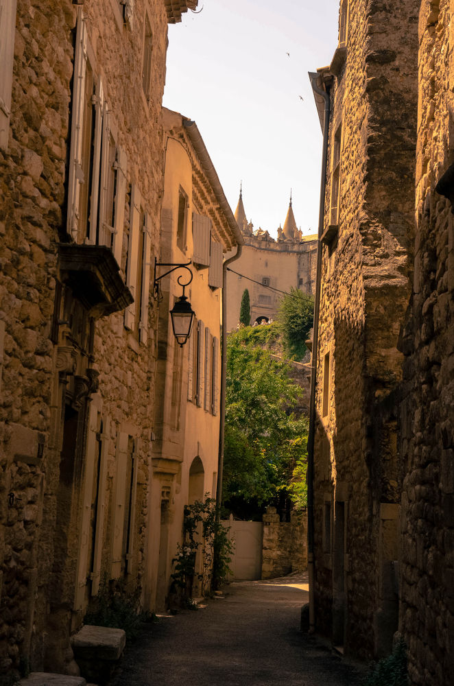 Street in South of France by midgardson