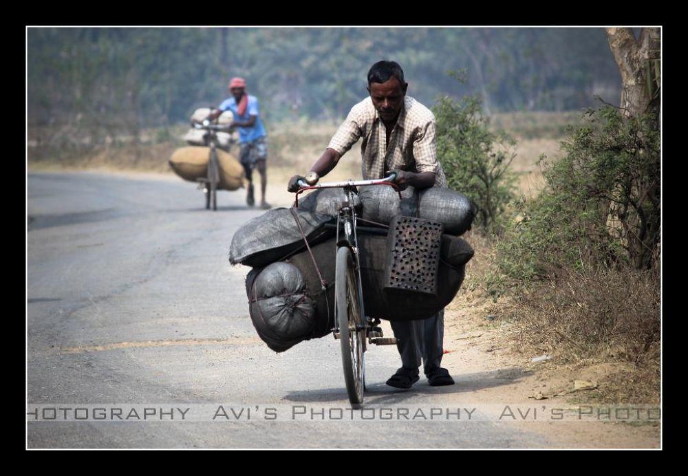 Burden of Lively-Hood by Avijit Das