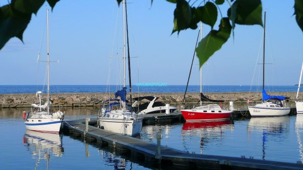 Roberval'  s  marina by jean-jacques  ouellet