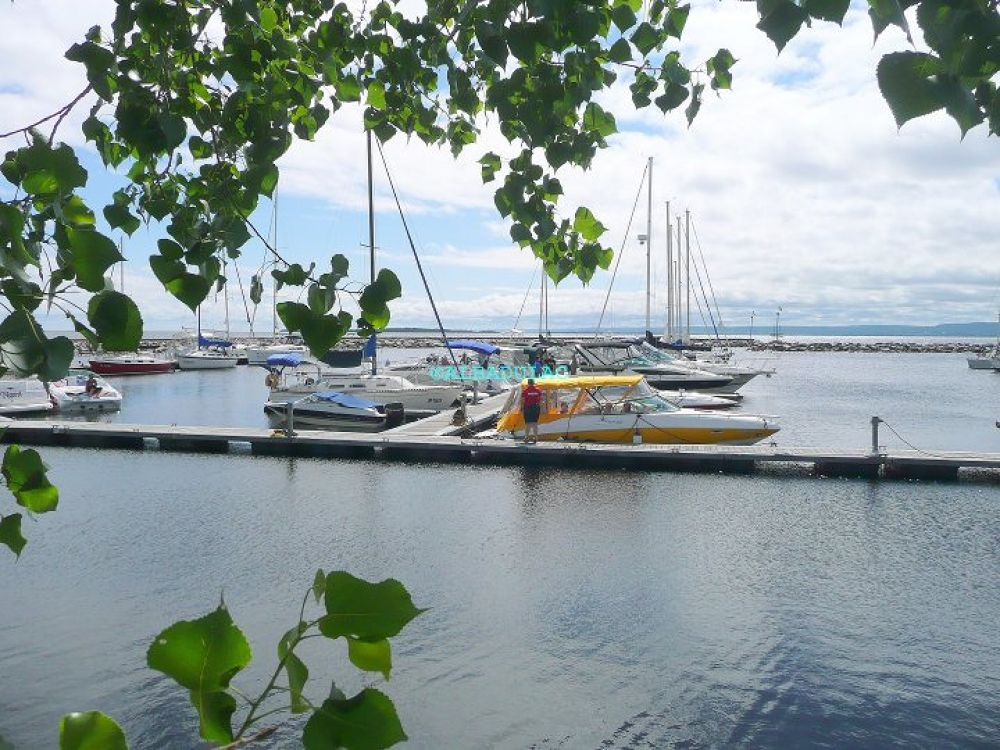 Roberval's  marina by jean-jacques  ouellet