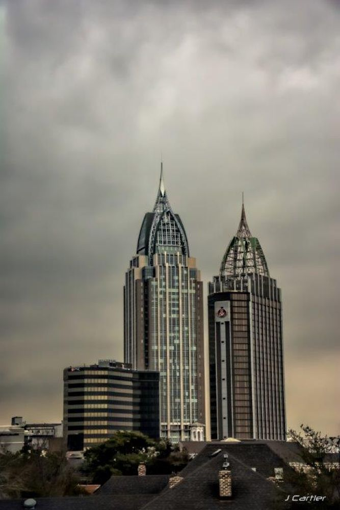 Twin Towers Mobile by Jerome Cartier