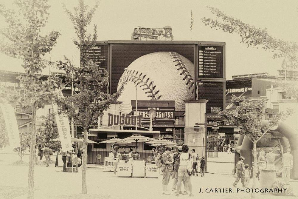 Take Me Out To The Ball Game... by Jerome Cartier
