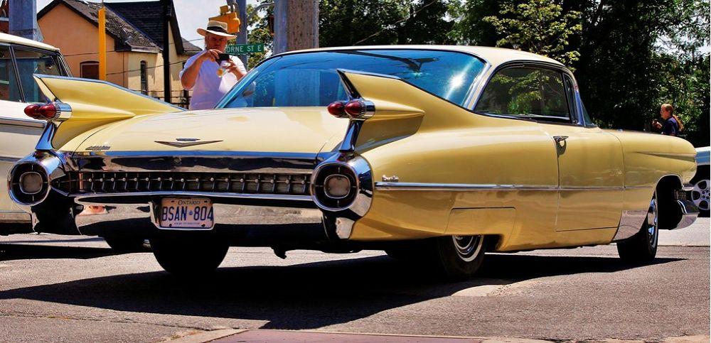 Gold 59' Caddy by Allan Fritz