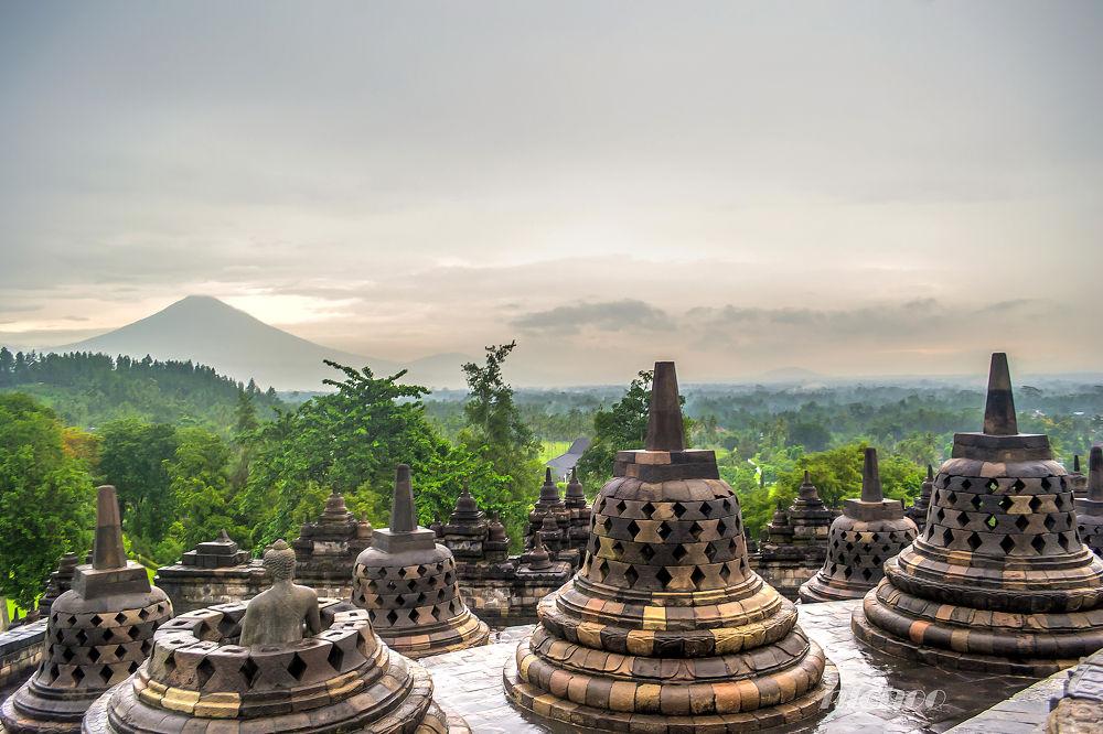 Photo in Landscape #nature #travel #buddism #volcano