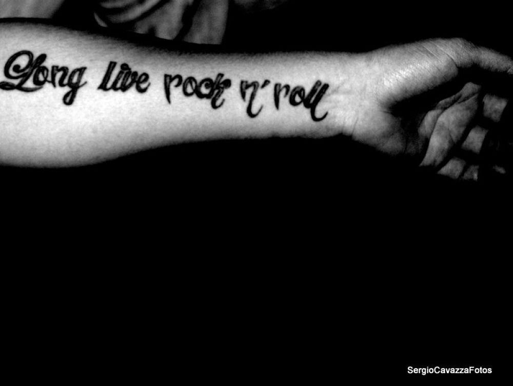 """Long Live rock n' roll"" by Sergio Cavazza"