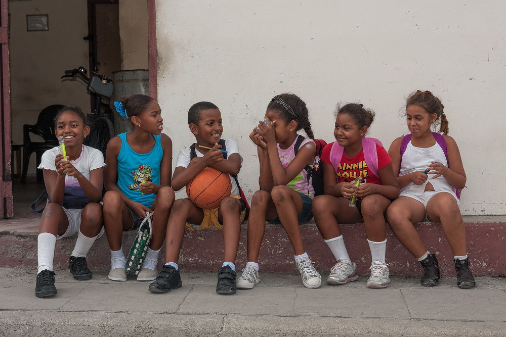 Young Cubans by Patrice Sarzi