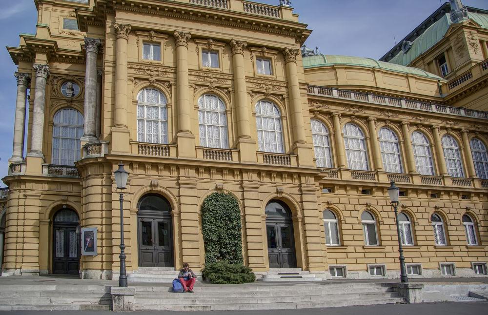 HNK Zagreb, Croatia by Zoran Radakovic