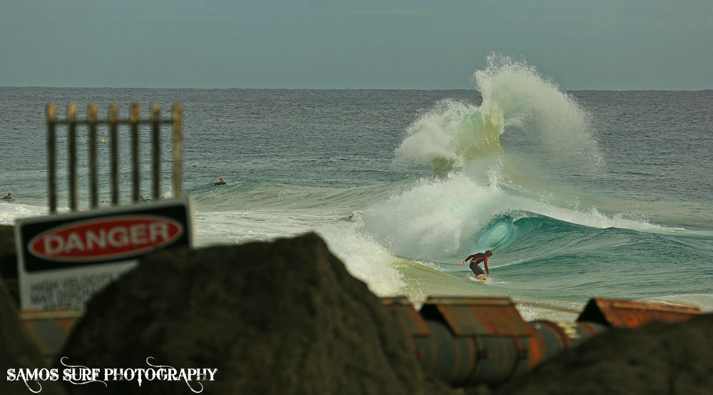 DANGER (2) by Samos Surf Photography