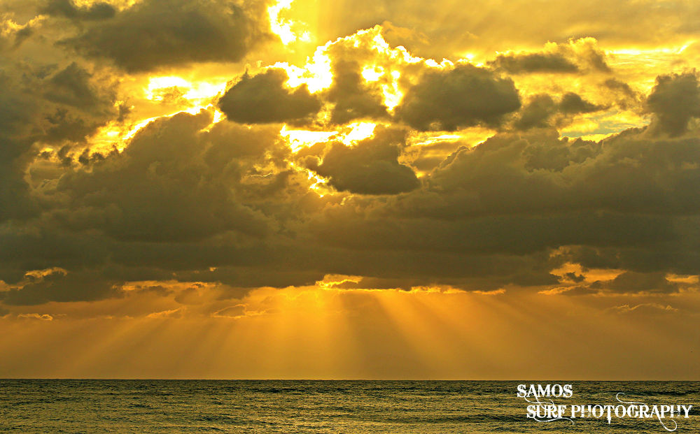 LAVA IN THE SKY by Samos Surf Photography