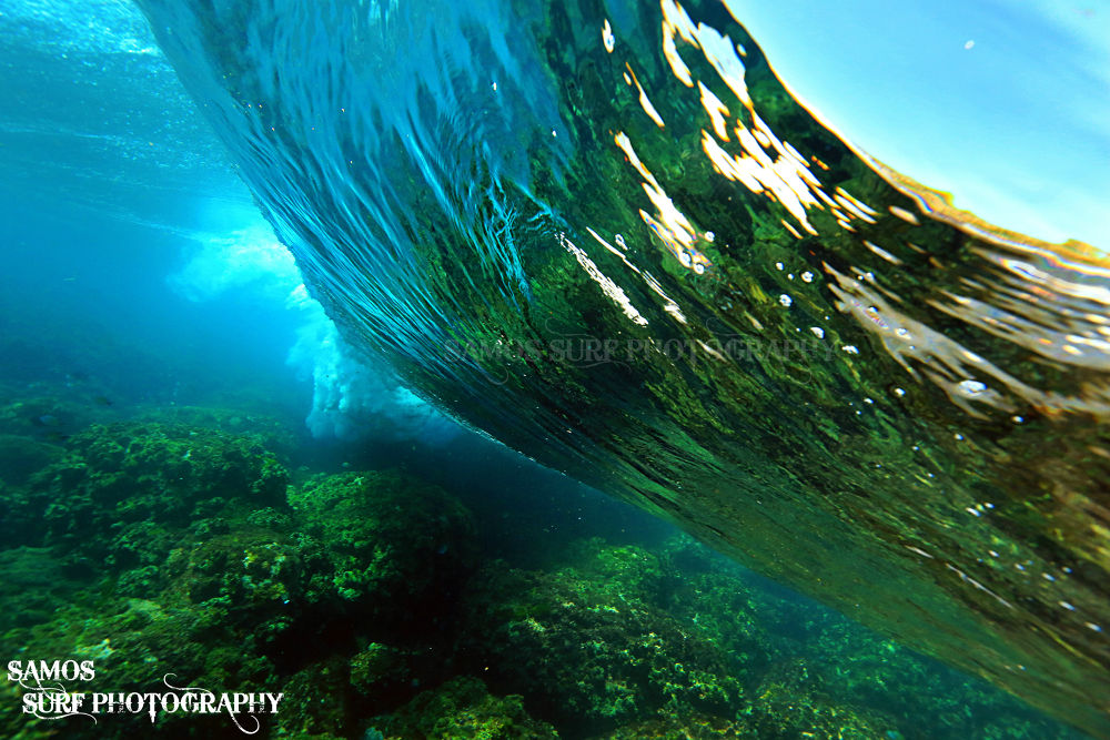 BREAKERS ON THE REEF by Samos Surf Photography