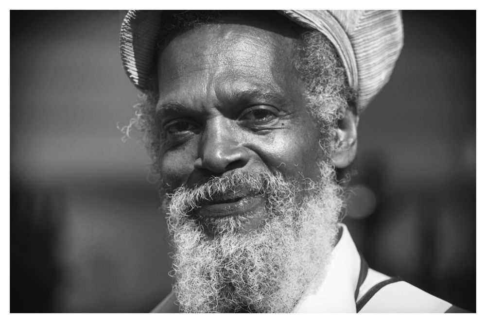 Photo in Portrait #notting hill #carival #the face #black and white #close up #portrait