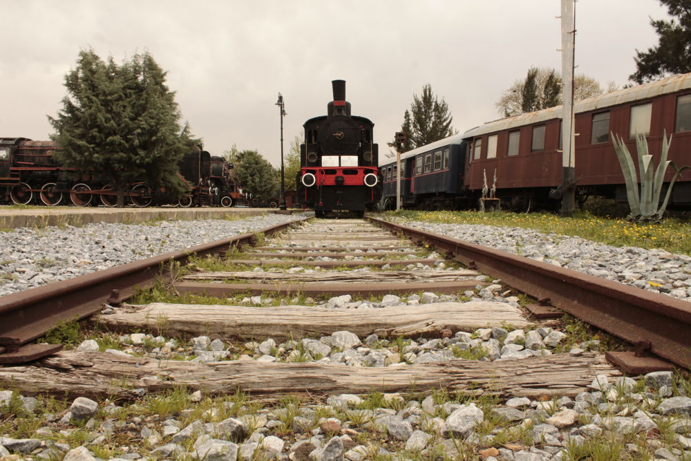 Train on the rail  by Ayberk SOYLU