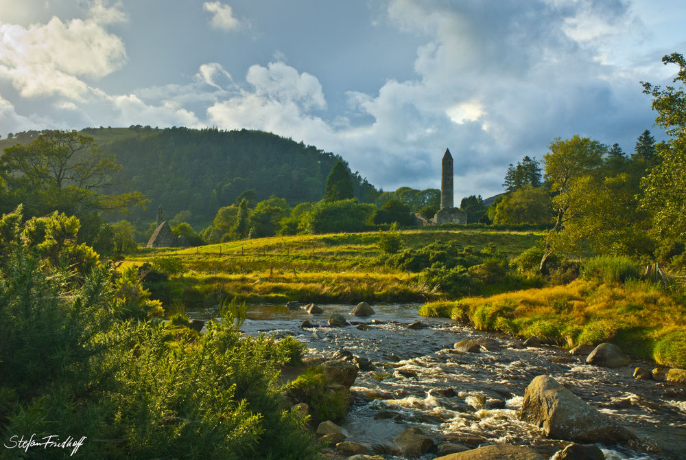 Glendalough, Co. Wicklow, Ireland by Stefan Friedhoff