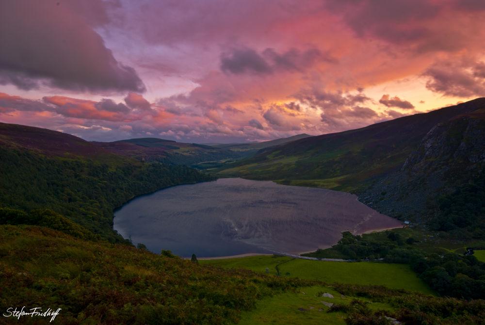 Loch Tay, Co. Wicklow, Ireland by Stefan Friedhoff