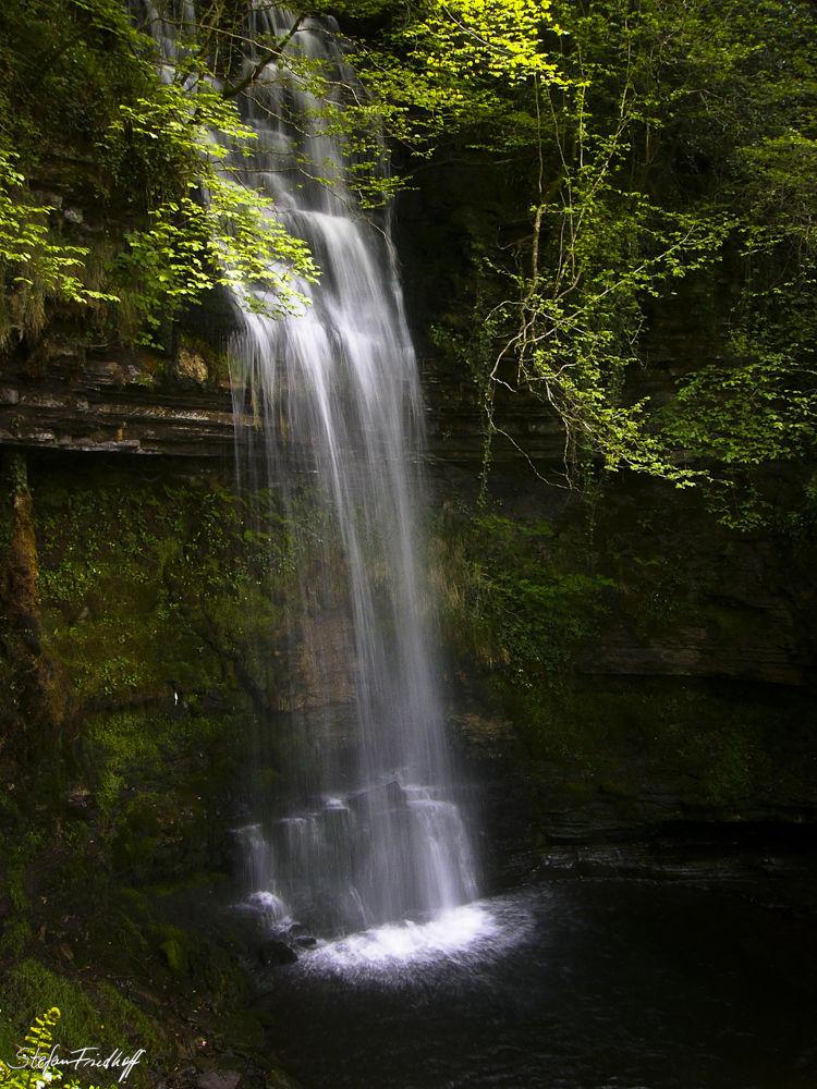 Glencar Waterfall by Stefan Friedhoff