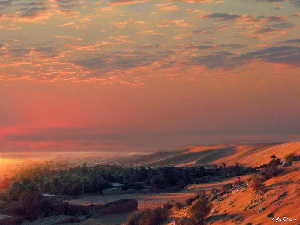 Sunset. by Samir Sami