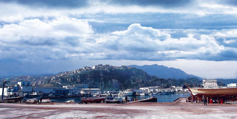 orage en vue beni saf  by Samir Sami