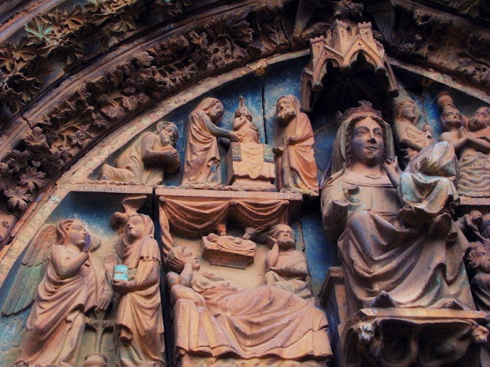 IMG_4809  iglesia de santa maria olite navarra by angelgarcia