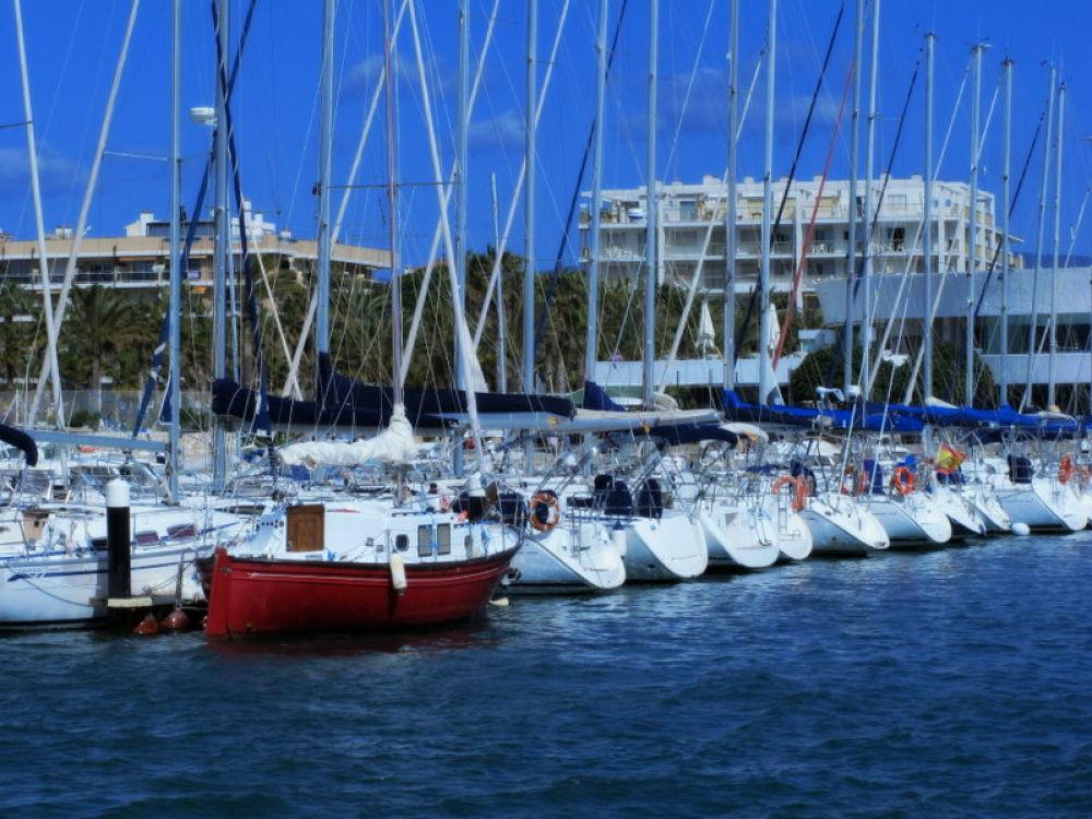 IMG_8616 puerto de salou by angelgarcia
