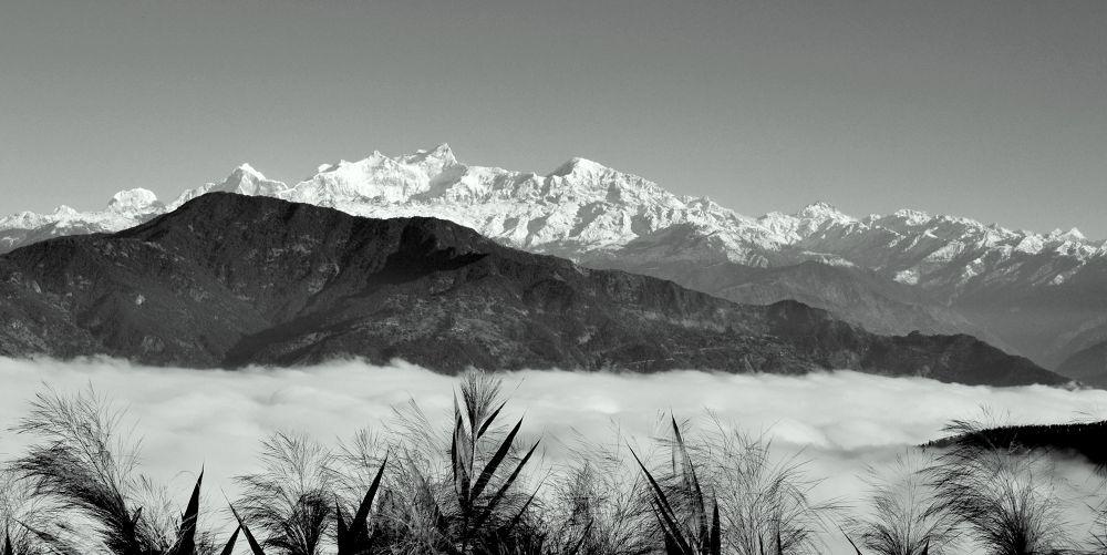manaslu, gorkha by Bijay Rana