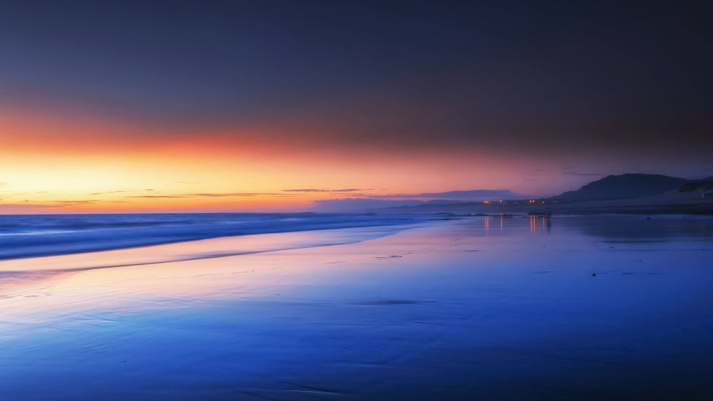 Sunset in the Blue Hour by OnRock Photography