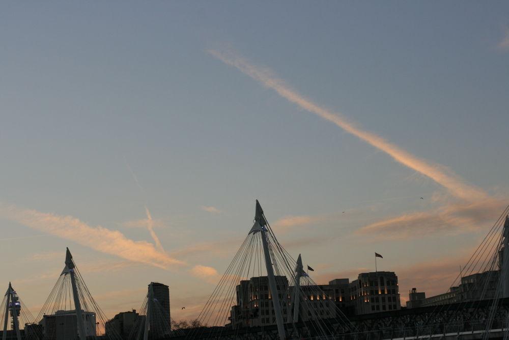 Roads...over London :) by Alin Laurentiu Giga