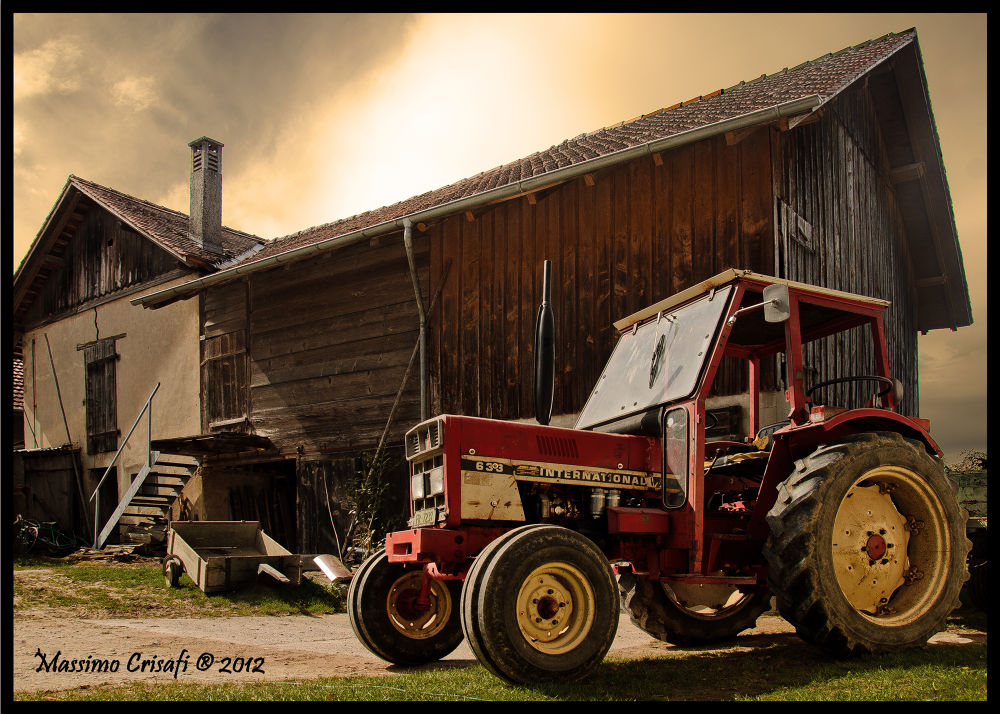 Tractor_edited-1 by Massimo Crisafi