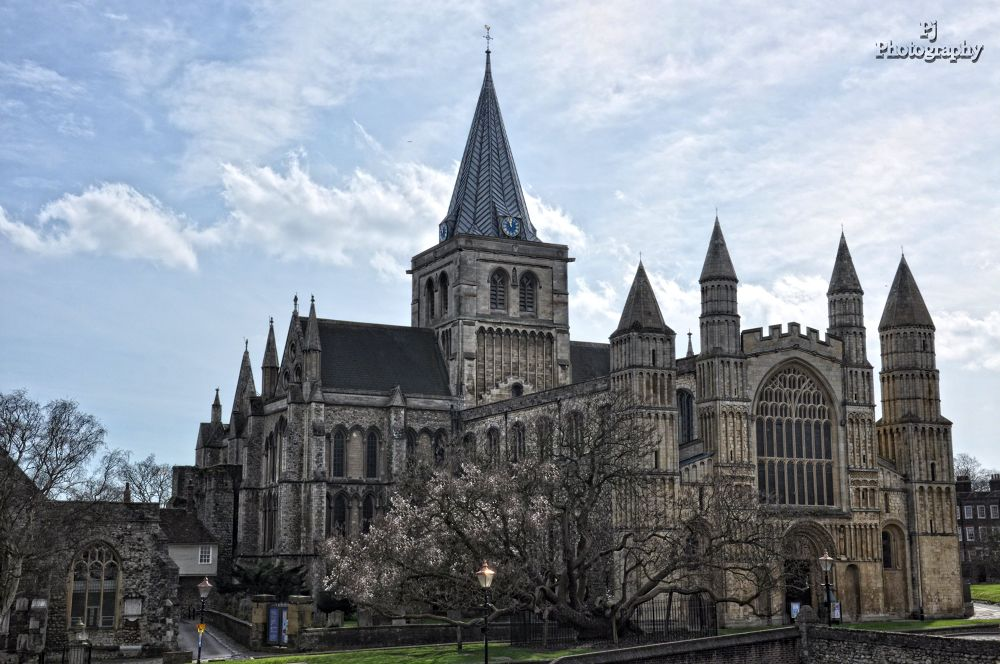 Rochester Cathedral by Pj Photography