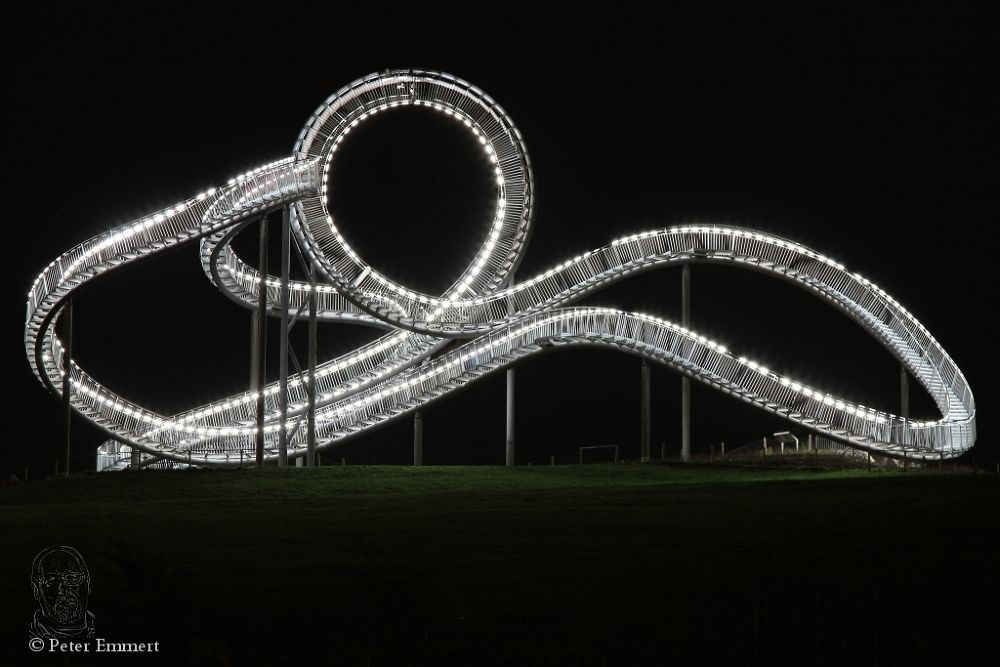 Landmark Tiger and Turtle one by Peter Emmert