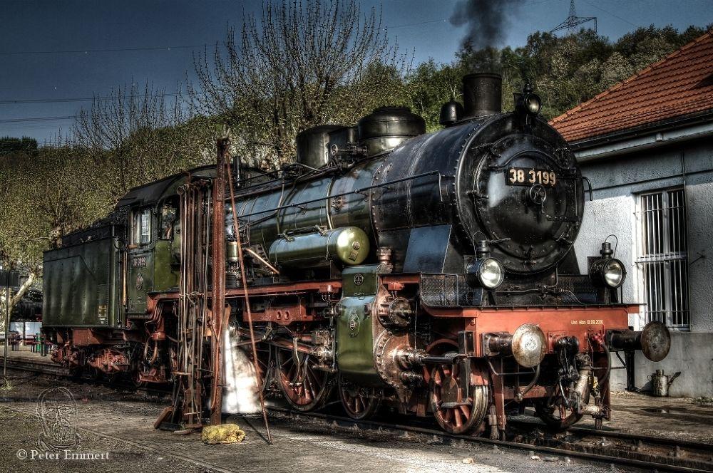 steam locomotive by Peter Emmert