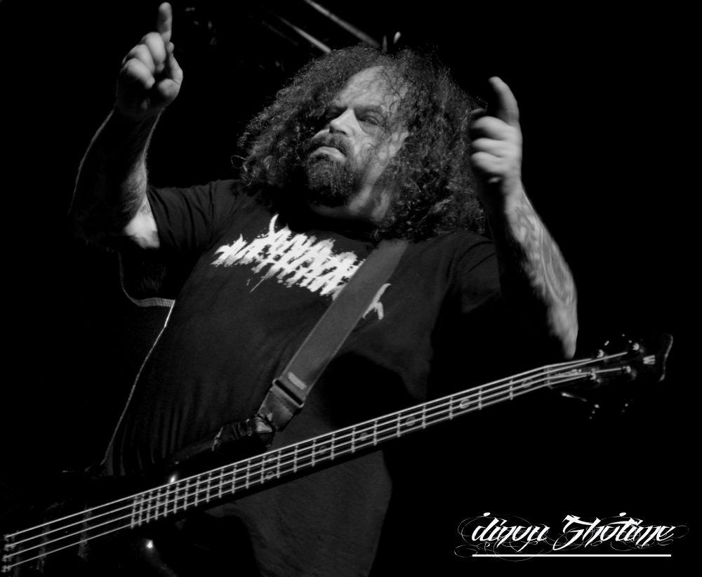 Shane Embury           -Napalm Death-   @Marseille 2014.02.17 by dinoushotime