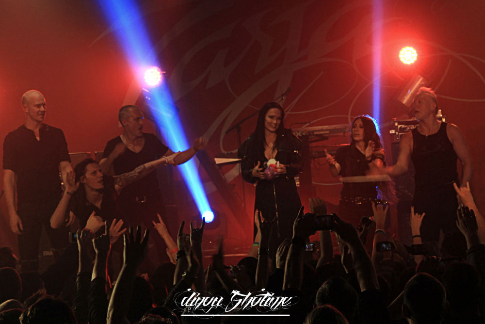 complete band    -Tarja-           @Marseille 2014.02.04 by dinoushotime