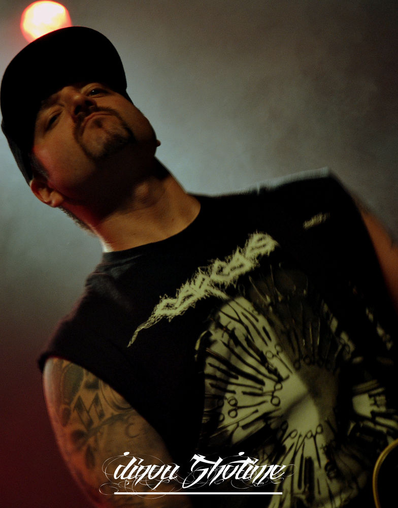 Wayne Lozinak -HATEBREED-   live in Marseille 2014.02.17 by dinoushotime