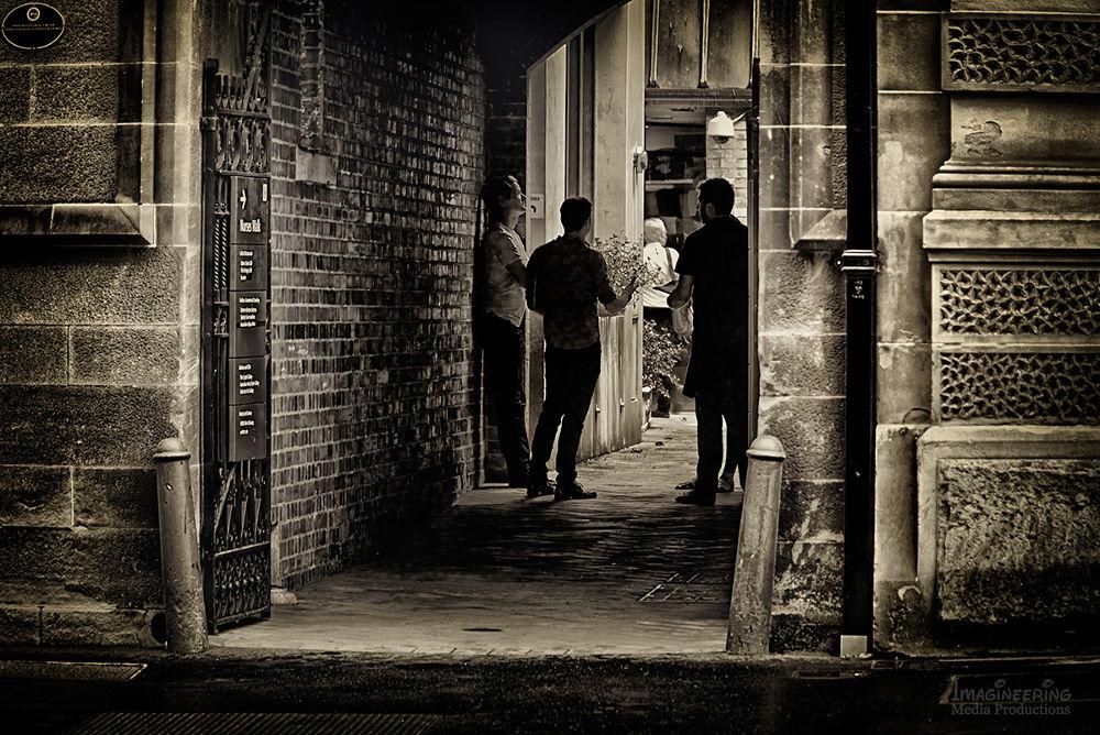 Casual_Meeting by Jim Merchant